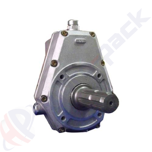 60000 serie group 20 pump over gear, male shaft , 1:3