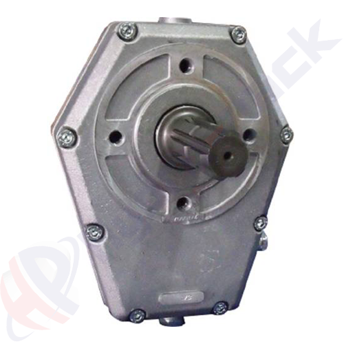 70000 serie group 30 pump over gear, male shaft , 1:3