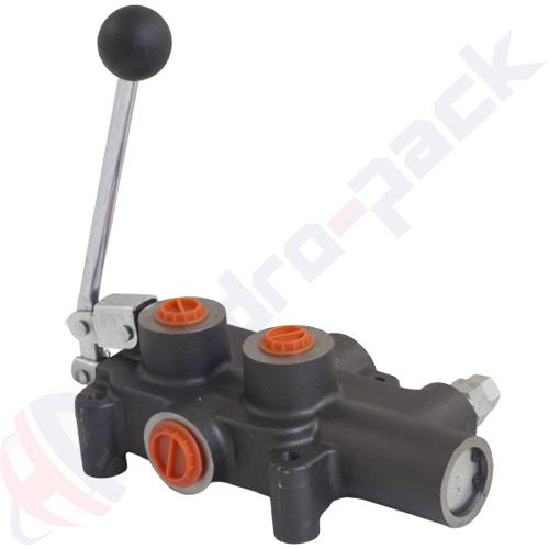 """Log splitter valve, P81 RS , G 1/2"""" , 80 L/min"""
