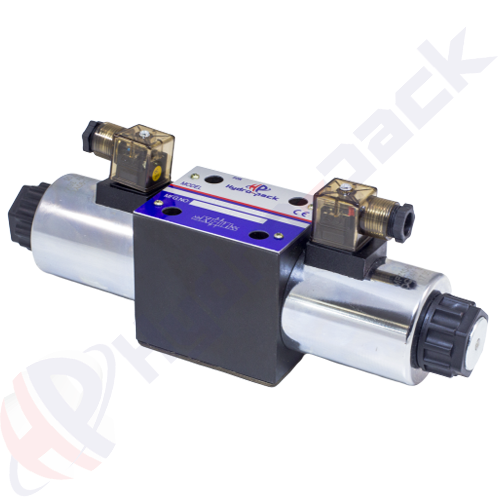 NG10 (CETOP 5) double coil solenoid valve, RH10001 , 100 L/min, 110 V
