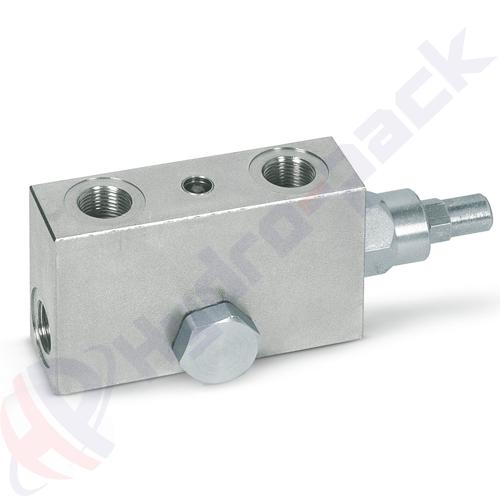 """Single overcenter valve, VBCD SE A FLV , 60 L/min, G 1/2"""""""