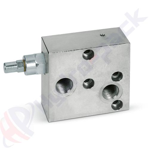 """Overcenter valve for MP/MR (OMP/OMR), VBCDF SE MP/MR  , 45 L/min, G 1/2"""""""