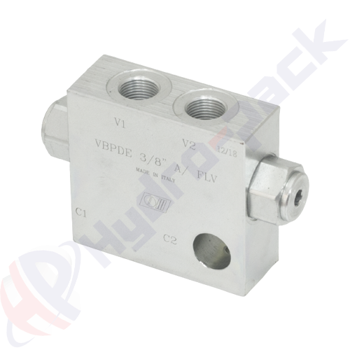 """Double pilot operated check valve, VBPDE A FLV , 30 L/min, G 3/8"""""""
