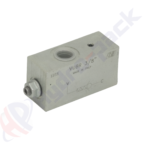 "Hose burst valve, VUBR , 70 L/min, G 1/2"""