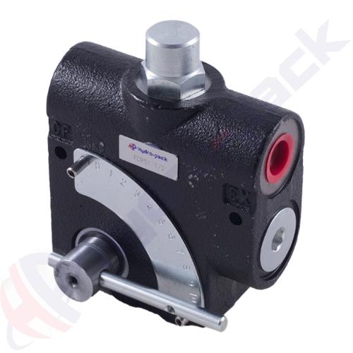 "3 way flow control valve, FCR51 , 114 L/min, NPT 3/4"""