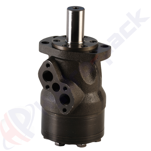 MH series hydraulic motor, 315 cc/rev, straight keyed shaft 32 mm DIN6885 , 4 holes oval mounting flange