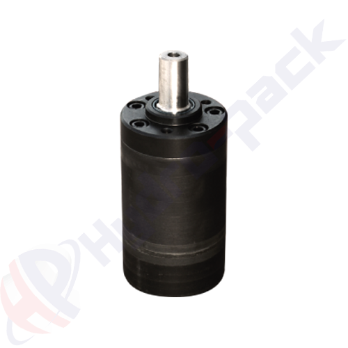 MH series hydraulic motor, 500 cc/rev, straight keyed shaft 32 mm DIN6885 , 4 holes oval mounting flange