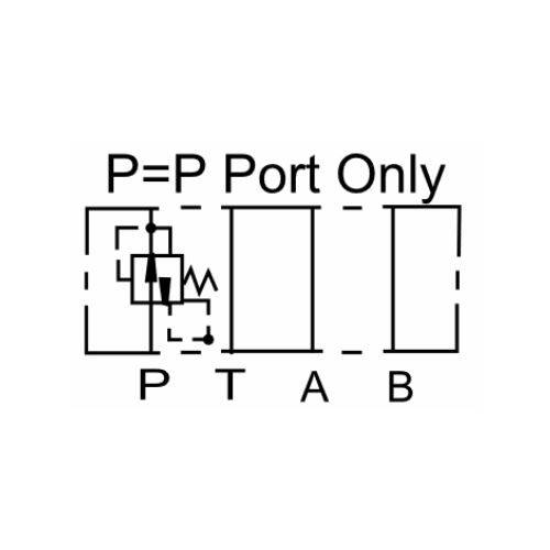 NG6 (CETOP 3) modular pressure reducing valve, MPR 02 P , 35 L/min, P port