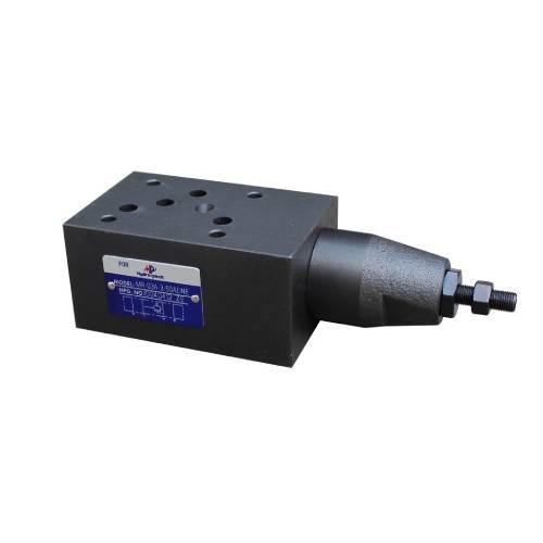 NG10 (CETOP 5) modular pressure relief valve, MR 03 W , 70 L/min, A & B ports