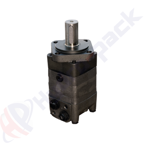 MS series hydraulic motor, 400 cc/rev, straight keyed shaft 32 mm DIN6885 , SAE-A 4 holes mounting flange