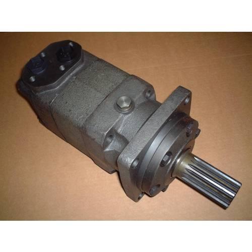 MT series hydraulic motor, 500 cc/rev, splined shaft 38.1 mm 17T ANS B92.1-1976 , 4 bolts square mounting flange