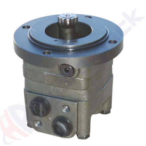 MTS series hydraulic motor, 315 cc/rev, external spline ANS B92.1-76 , short mount