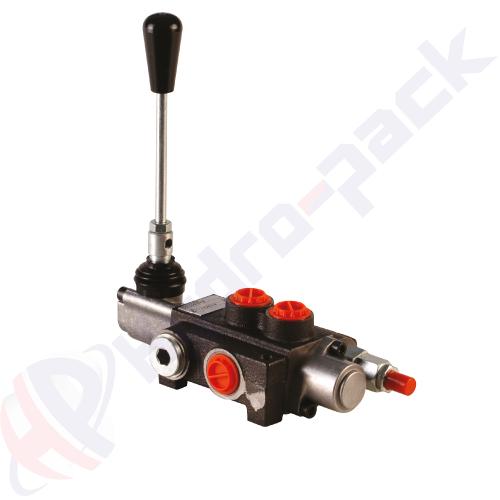 "40 liter monoblock control valve, P40 , one spool , G 1/2"" , open center spool"