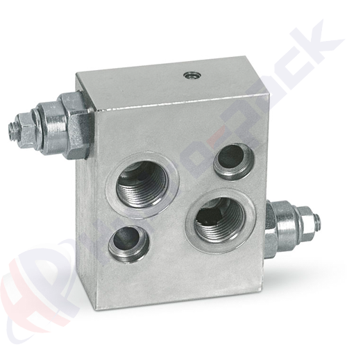 """Crossover relief valve for MS/MT (OMS/OMT), VAU MS SF , 50 L/min, G 1/2"""" , 30-180 bar"""