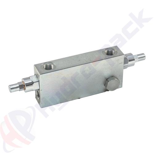 """Double overcenter valve, VBCD DE A FLV , 60 L/min, G 1/2"""""""