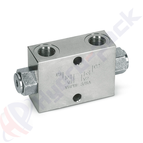 Double pilot operated check valve, VBPDE A , 30 L/min, G 3/8""