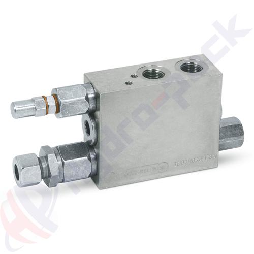 Double acting plough overturning valve, VRAP 40/50 DE , 400 bar