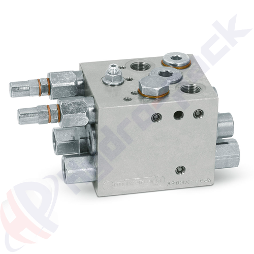 Double acting plough overturning valve, VRAP 80/100 SE SV , 400 bar